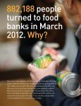 HUNGERCOUNT 2012 - Food Banks Canada - Page 3