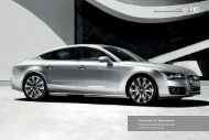 The Audi A7 Sportback Pricing and Specification Guide - Sinclair Audi