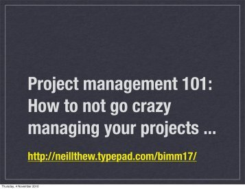 Download Project management - Typepad