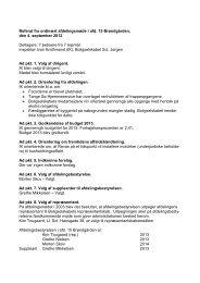 Referat fra afdelingsmøde for Brøndgården - Boligselskabet Sct ...