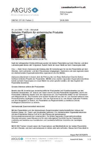 Passmärkte 2009 - Alpinavera