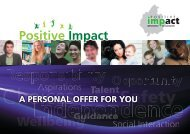 Offer Booklet - Impact Housing Association