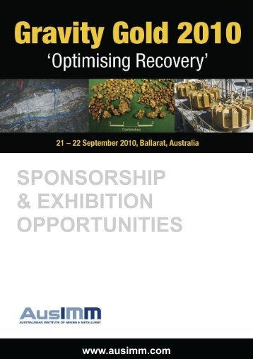 sponsorship & exhibition opportunities - Australasian Institute of ...