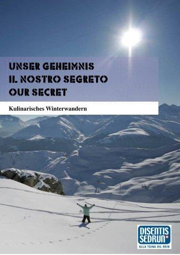 Kulinarisches Winterwandern4 3 - Ferienlager Rosetta