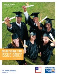 Out-of-School Time Issue Brief