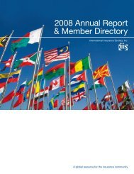 2008 - International Insurance Society