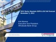Kirk Monroe Executive Vice President Wholesale Bank Group