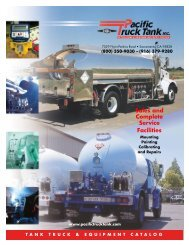 Sales and Complete Service Facilities - Pacific Truck Tank Inc.