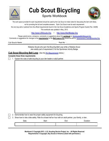 Personal Management Merit Badge Worksheet - The Best and Most ...