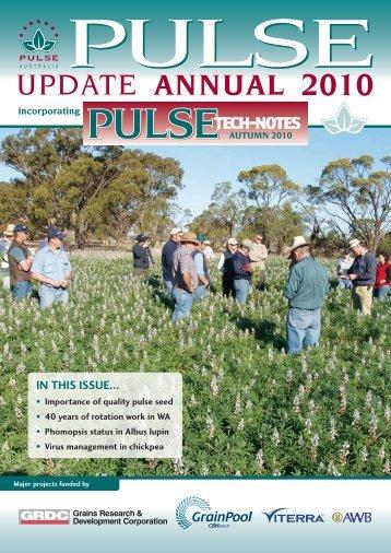 in this issue... - Pulse Australia