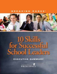 10 Skills for Successful School Leaders - National Association of ...
