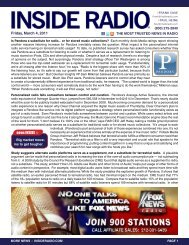 Friday, March 4, 2011 news INSIDE >>