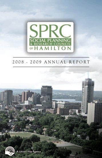 2008 - 2009 ANNUAL REPORT - SPRC