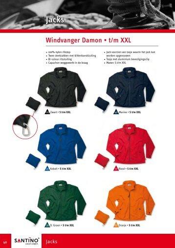 Windvanger Damon • t/m XXL - Olympus Zwolle