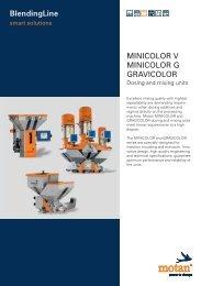 BlendingLine MINICOLOR V MINICOLOR G GRAVICOLOR