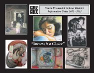 District Information Guide - South Brunswick Public Schools