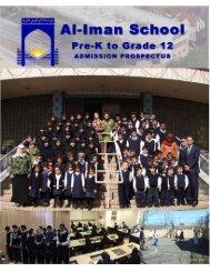 Admission Application - Al-Iman School