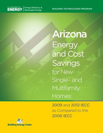 Arizona Energy and Cost Savings - Building Energy Codes