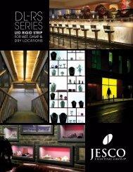 DL-RS Series LED Rigd Strip - Jesco Lighting