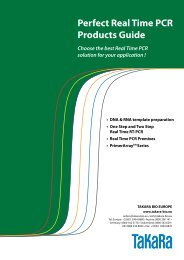 Perfect Real Time PCR Products Guide - Ozyme