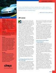 JM Lexus - Lamar Heller's Home Page