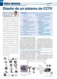 Diseño de un sistema de CCTV
