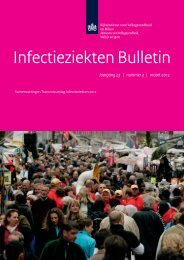 Infectieziekten Bulletin maart 2012 - SWAB