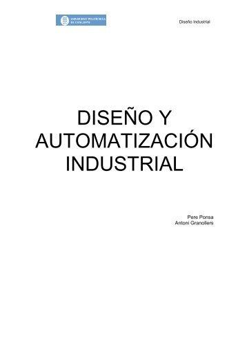 diseño y automatización industrial - Campus de la UPC a Vilanova i la