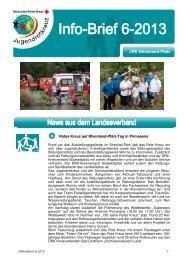 Info-Brief 6 - Jugendrotkreuz Rheinland-Pfalz