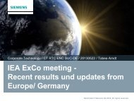 T. Arndt, Some News from Europe.pdf - High-Temperature ...
