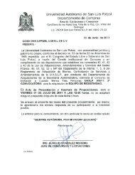 016 - Universidad Autónoma de San Luis  Potosí