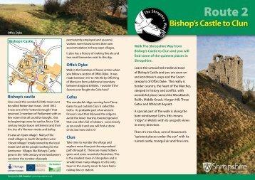 Route 2 - Shropshire Walking
