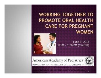 Slide set - American Academy of Pediatrics