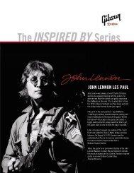 JOHN LENNON LES PAUL