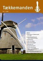 Tækkemanden 2/2007 - Dansk Tækkemandslaug
