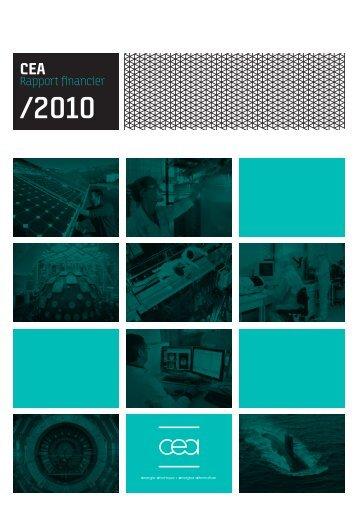 CEA Rapport financier / 2010