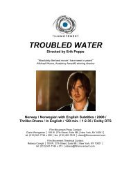 TROUBLED WATER Directed by Erik Poppe - Film Movement