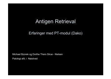 Antigen Retrieval - NordiQC