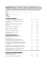 RISKBEDÖMNING STRESS I SKOLAN/arbetsbelastning - lärare