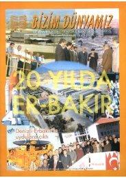 Sayı 3 - Nisan-Haziran 2001