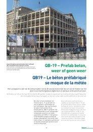 QB-19 – Prefab beton, weer of geen weer QB19 – Le béton ... - Febe
