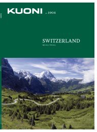 Switzerland 2013 - Travel Club Elite