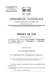 projet de loi - Assemblée nationale