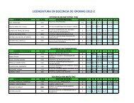 LICENCIATURA EN DOCENCIA DE IDIOMAS 2012-2
