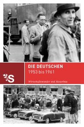 DIE DEUTSCHEN 1953 bis 1961