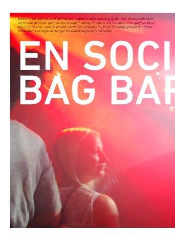 Medierne har ofte fokus på den danske ungdoms ... - Stof