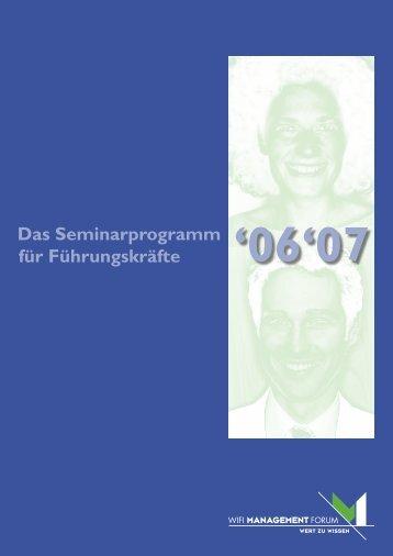 Mf-Programmbrosch