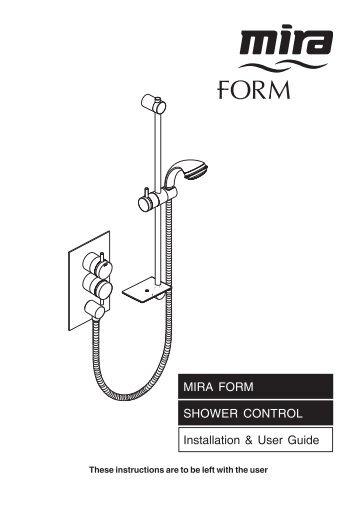 installation user guide mira gem 88 shower alert electrical rh yumpu com Blip Scale User's Guide Paperwork Guide