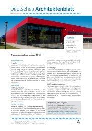 Aktuelle Themenwerbung Ausgabe 1/2013 - corps