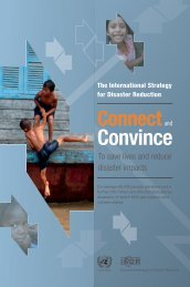 Convince - United Nations International Strategy for Disaster ...